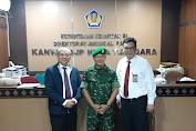DJP Nusa Tenggara Gelar IHT, Pasiter Korem 162/WB Jadi Narasumber Wasbang