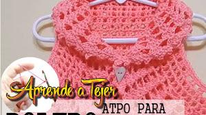 Bolero Crochet para todos los Talles / Tutorial