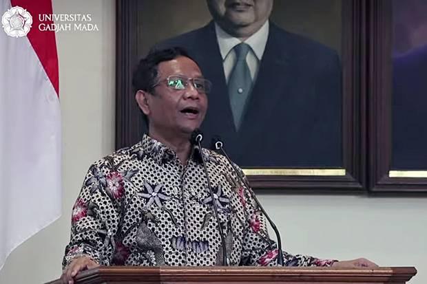 Mahfud MD: Hukum Sudah Lepas dari Sukmanya, Bisa Diperjualbelikan!