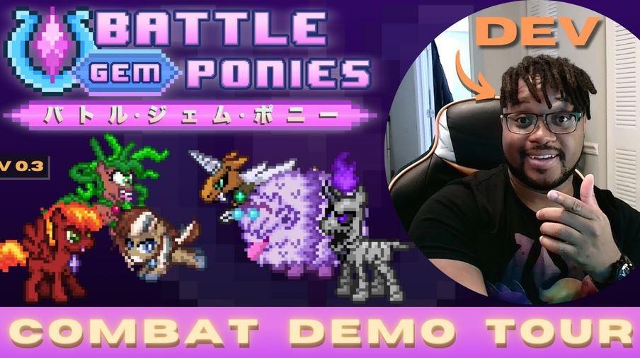 Equestria Daily - MLP Stuff!: Battle Gem Ponies Combat Demo Tour