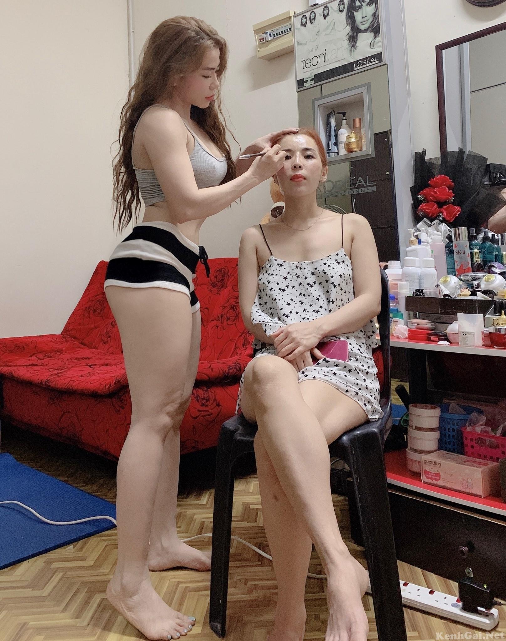 Model Helen Trần   E-CUP