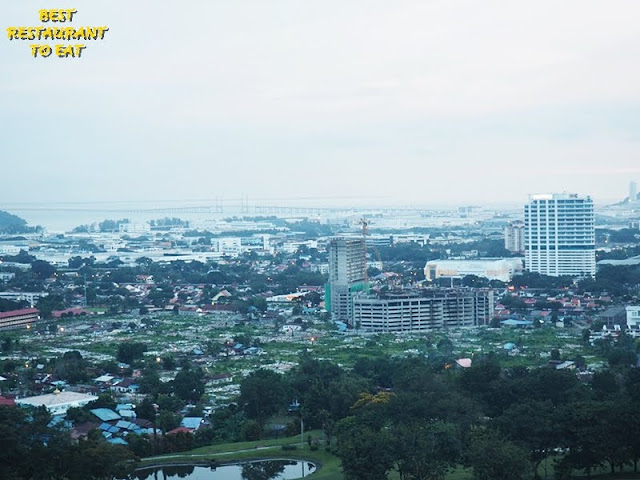 View from Hotel Equatorial Penang - Penang Bridge View