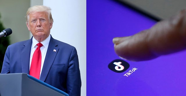 Trump says US ''may be banning'' China-owned video app TikTok