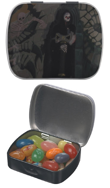 Halloween Grim Reaper Candy Tin