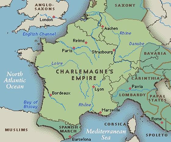 Charlemagne empire