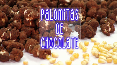 palomitas de chocolate