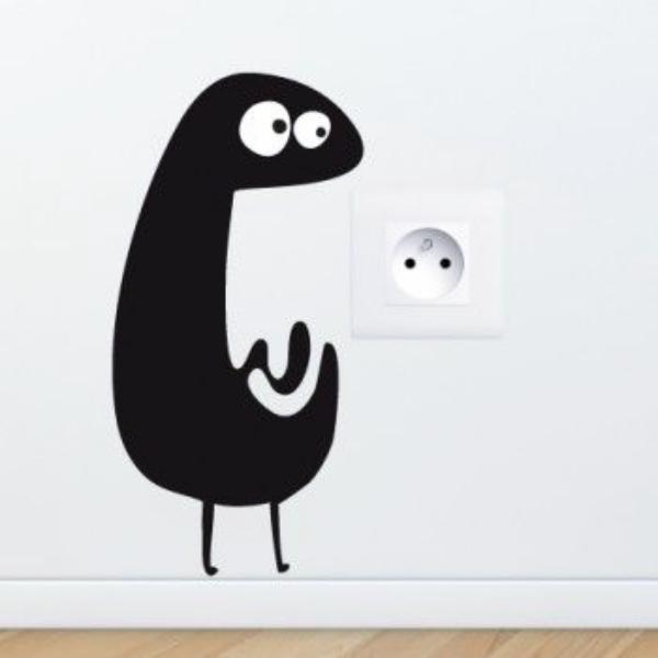 Panda Switchboard Painting
