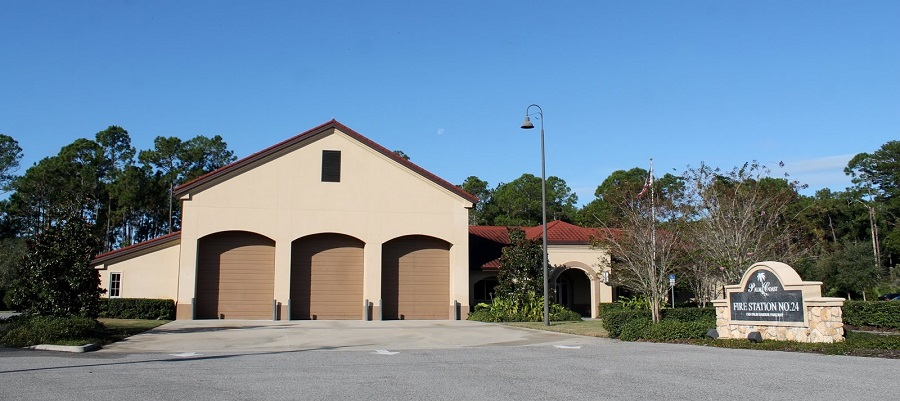 Estación de bomberos en Palm Coast