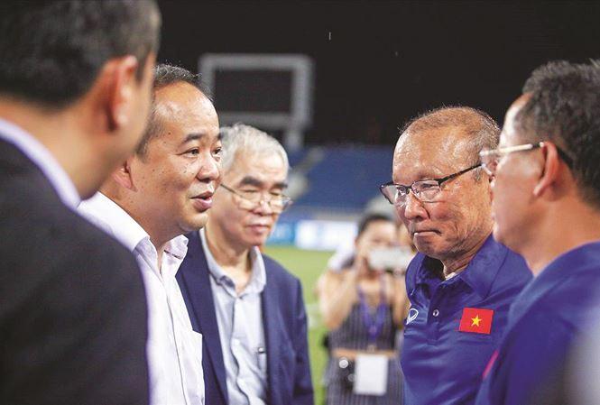 HLV Park Hang-seo, VFF, hợp đồng