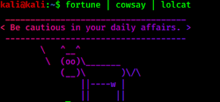 colored cow telling fortune