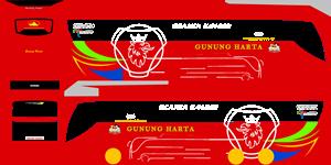 livery gunung harta merah mod jb3 shd tronton by wsp mods