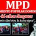 MPD conmemora 46 años asesinato de Amín Abel y llama a lucha en las calles para lograr cambios en RD
