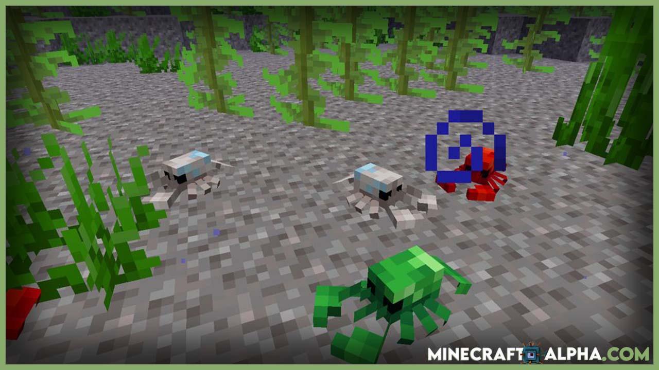 Minecraft Fins and Tails Mod 1.16.5 (Marine Life)