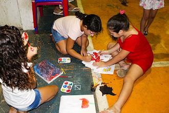 Centenas de crianças participam da Caravana do Brincar em Itapiúna
