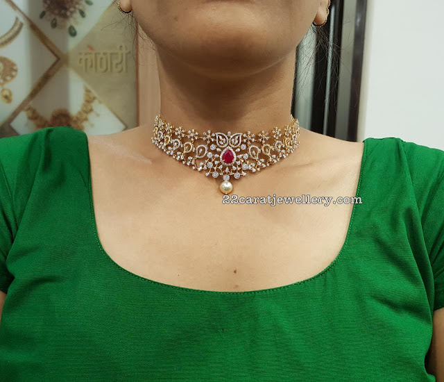 Multiway Diamond Choker by Kothari Jewellery