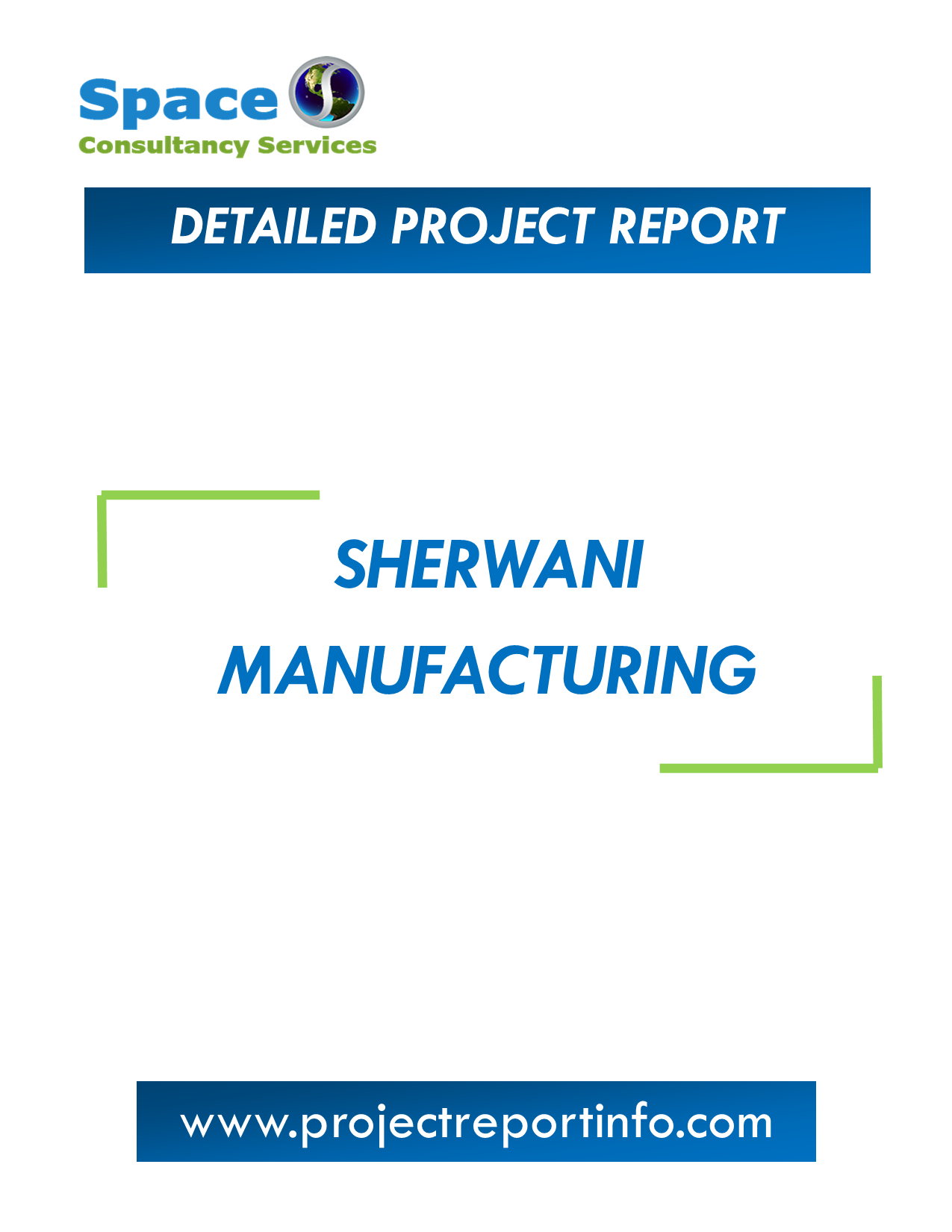 Project Report on Sherwani Manufacturing