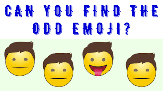 Can you find the Odd Emoji Out?