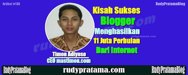 kisah sukses blogger