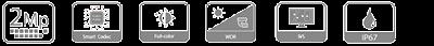 LẮP CAMERA IP IPC-HFW2239S-SA-LED-S2 có màu ban đêm