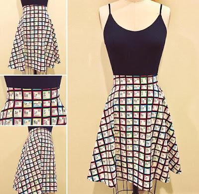 Chemistry Skirt