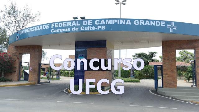 UFCG edital concurso para técnico-administrativo