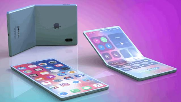 آيفون قابل للطي – هل يأتي هذا العام 2021 ؟ وبصمة في الشاشة لـ iPhone13