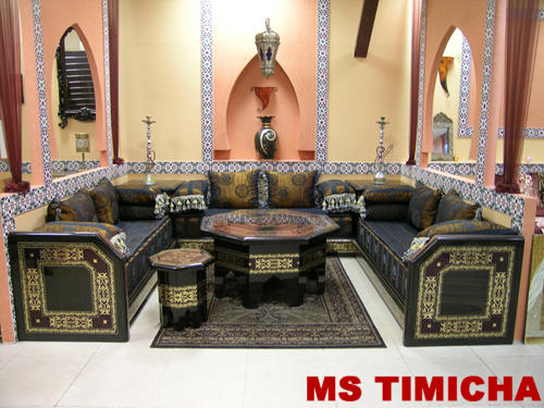 Decoration salon marocain