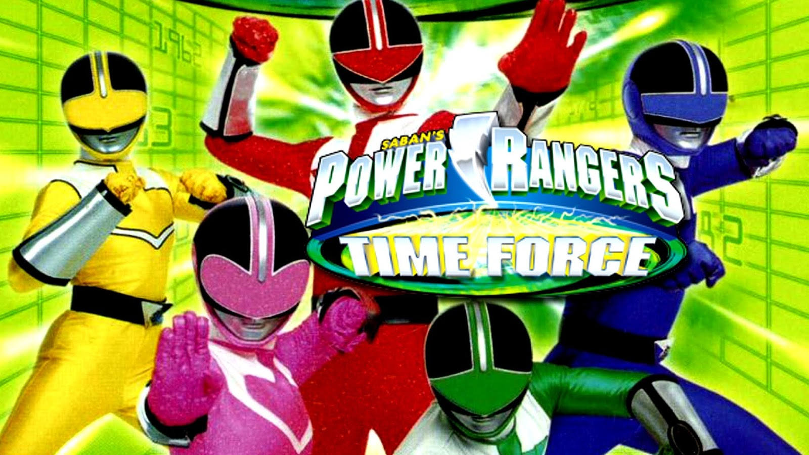IL MONDO DI SUPERGOKU: ARRIVA POWER RANGERS TIME FORCE