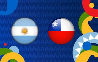 الأرجنتين و التشيلي بث مباشر كوبا امريكا