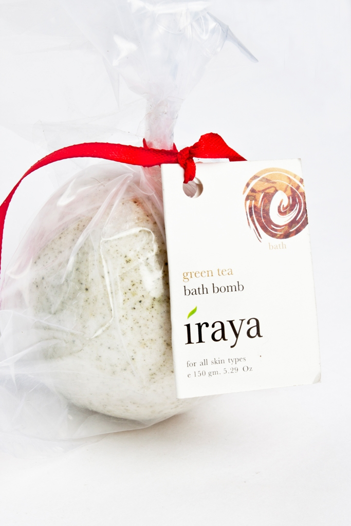 Iraya Green Tea Bath Bomb