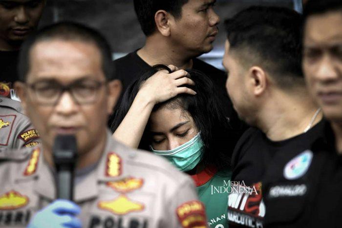 vitalia Sesha Kasus Narkoba-IGmediaindonesia