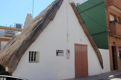 Barraca más antigua del Palmar-Valencia