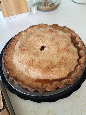 Whole Wheat Crusted Apple Pie, @ Creative Writing from the Heart.