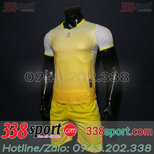 Áo Bóng Đá Không Logo Đẹp Egan LaMax SDD02 Vàng