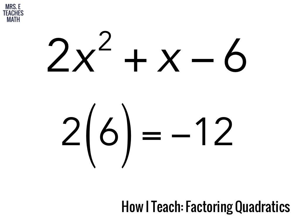 Mrs. E Teaches Math