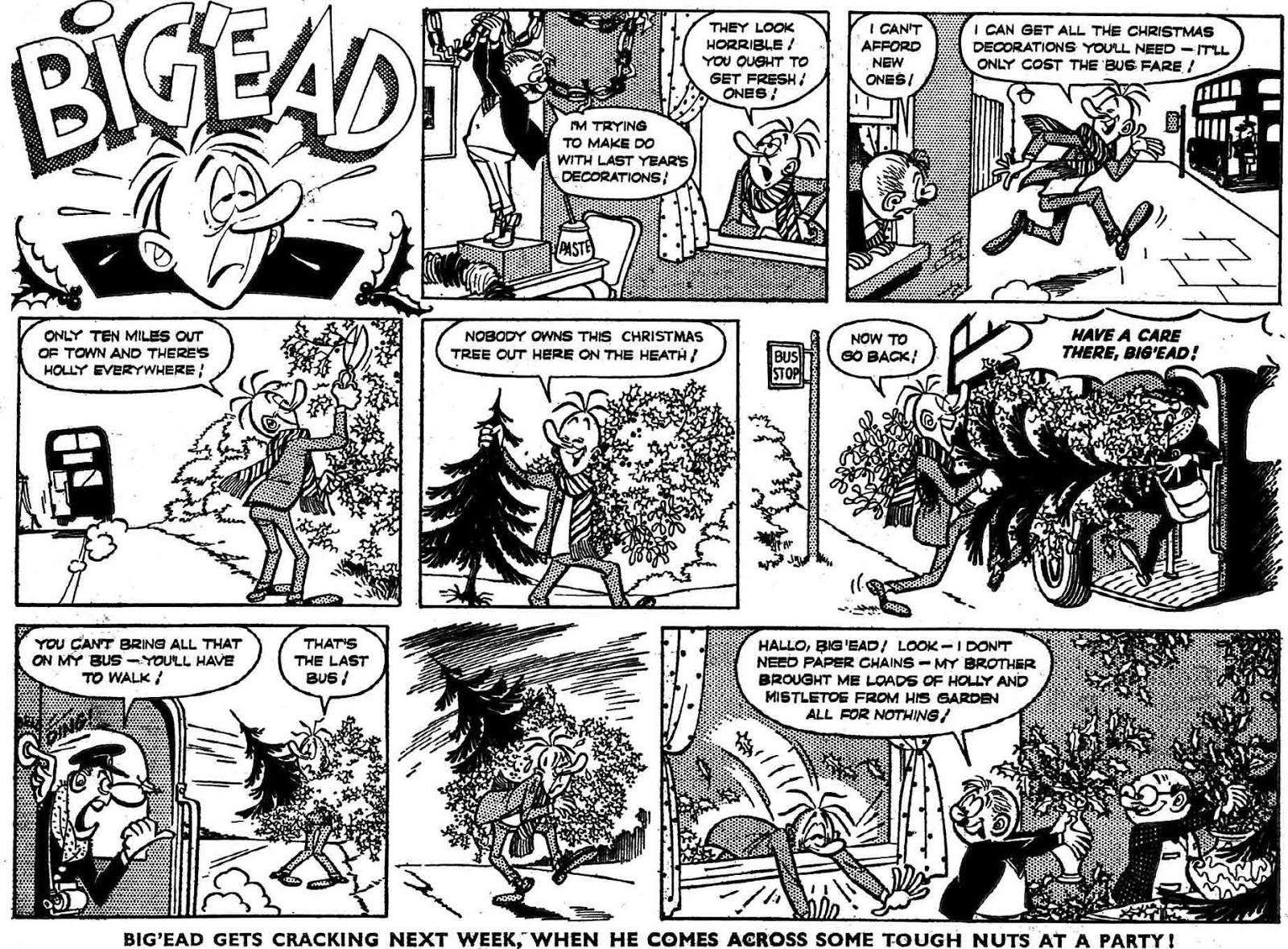 Big'Ead(Buster) en España se publicó en Chiribín como Cabezota