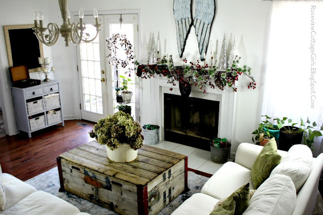 Farmhouse, Cottage, Vintage, Decor, Decorating