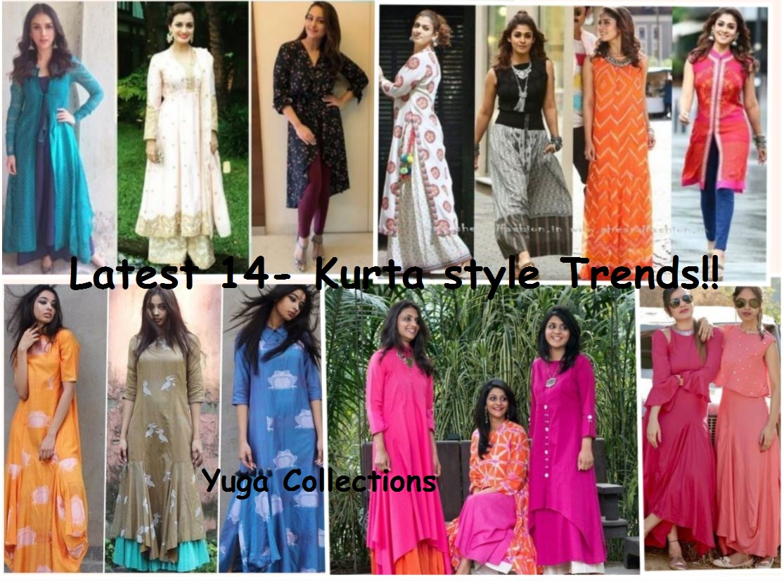 Glam Up With Latest Women Kurta Kurti Style 2018