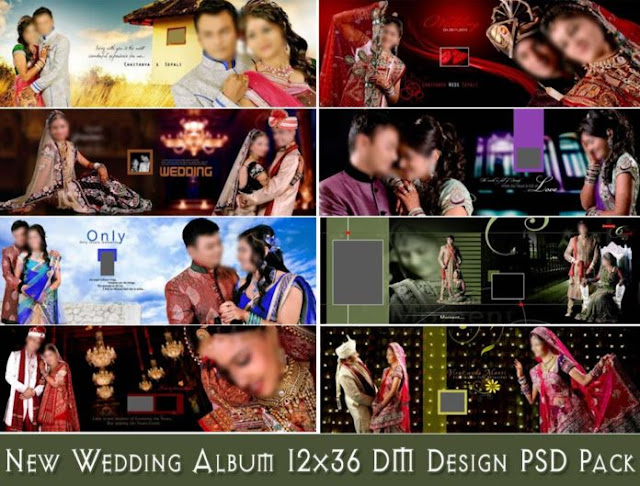 New Wedding Album 12×36 DM Design PSD Pack 2020
