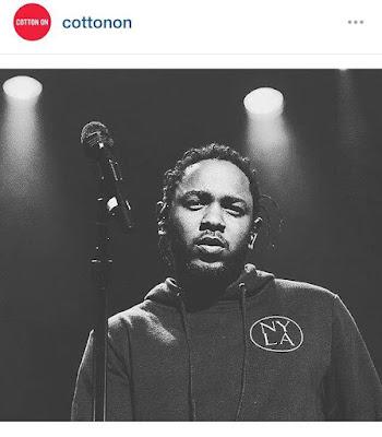 kendrick lamar tde concert melbourne hip hop phife dog cotton on we gon be alright