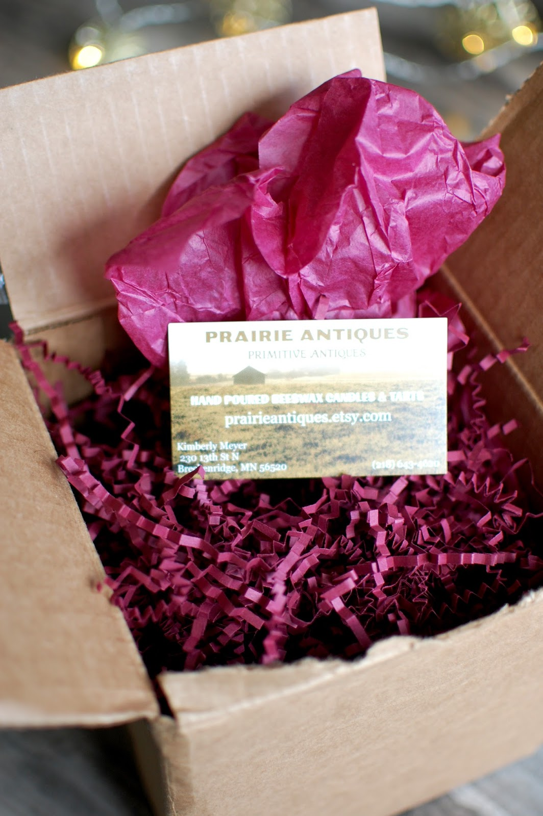The Redolent Mermaid: Prairie Antiques: Hand Poured Beeswax