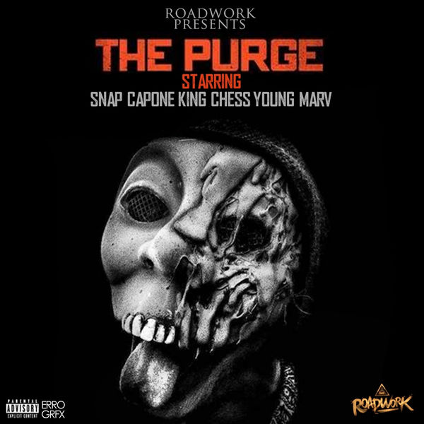 Snap Capone, King Chess & Young Marv - The Purge Cover