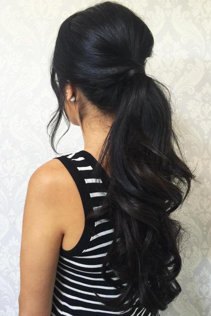 Pony Long ponytail