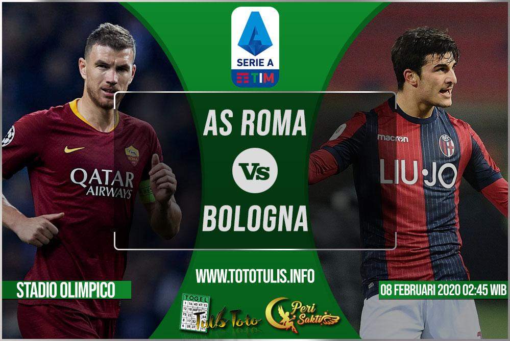 Prediksi AS Roma vs Bologna 08 Februari 2020
