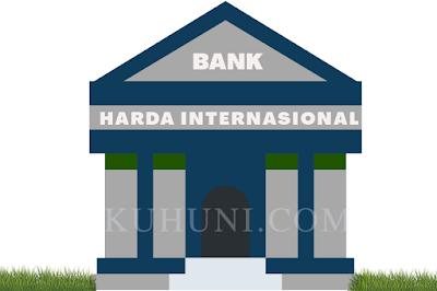 Laba Bersih Bank Harda Internasional tahun 2020