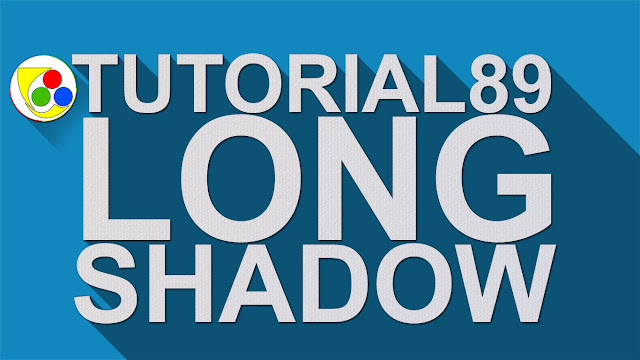 Cara cepat membuat long shadow di photoshop + Video