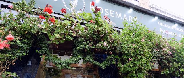 The Rosemary Organic Hungarian Restaurant Exterior