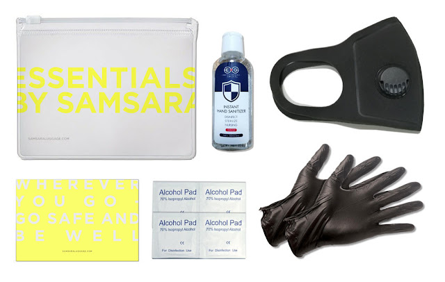 "Samsara Luggage Announces Global Launch of Essentials by Samsara in Response to COVID-19 - ""Essentials"" Safety Kit Supports the Current Demand for Protective Products"