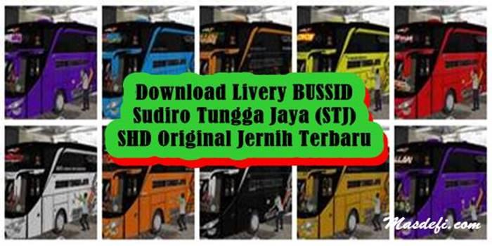 livery bussid stj shd original
