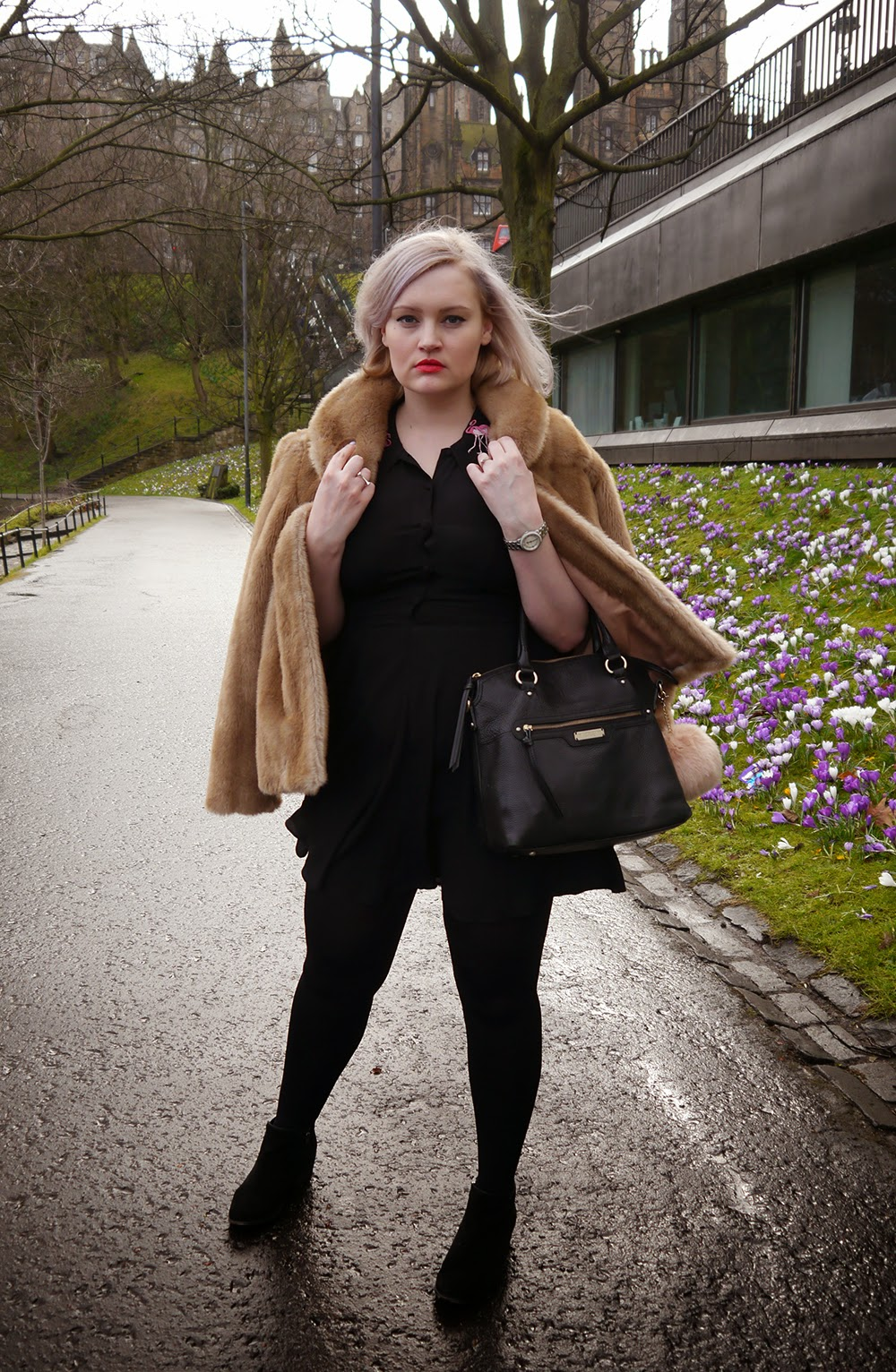 day one, Edinburgh Fashion Week, 2105, Wardrobe Conversations, model, catwalk, faux fur, the mound, This Is Edinburgh, blogger, ootd, outfit